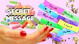 How To Make Miniature Secret Message - DIY Miniature Secret Message Cards