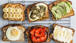 2 Ingredient Toast 6 Ways