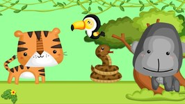 Animal Sounds Song! We're Going to the Farm and Jungle Song