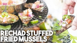 Rechad Stuffed Fried Mussels - Appetizer Perfect For NYE Or Any Celebration