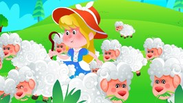 Little Bo Peep Has Lost Her Sheep - Cartoons For Toddlers - Nursery Rhymes For Babies