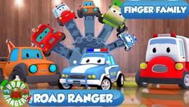 Finger Family - Road Rangers Family - Ep 14