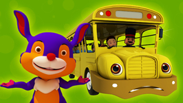Wheels on the Bus - Children's Popular Nursery Rhymes