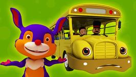 Wheels on the Bus - Children's Popular Nursery Rhymes