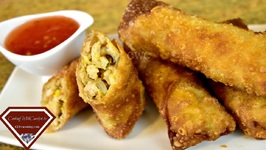Crispy Chicken And Vegetable Egg Rolls