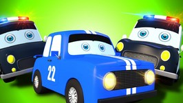 Police Car Chase - Car Cartoons For Babies - Videos For Children by Kids Channel