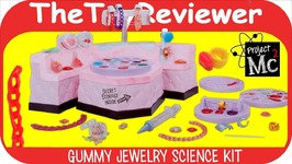Project Mc2 Gummy Jewelry Science Kit DIY Craft Candy Gelatin Unboxing Toy Review