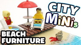 How To Build Lego Beach Furniture - Lego City Minis - 5