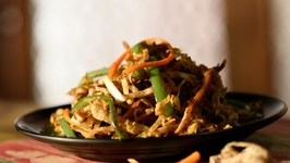 Chapati Noodles - Roti Noodles - Quick and Easy Recipe