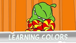 Learning Colors with Om Nom - Unexpected Adventure