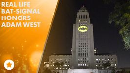 L.A. Shines The Bat Sign In Honor Of Adam West