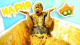 NACHO CHEESE BATH CHALLENGE