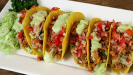 Chicken Mexican Tacos  - Tacos With Chicken Filling - The Bombay Chef  Varun Inamdar