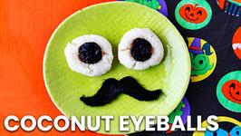 Coconut Eyeballs - Easy Halloween Treats