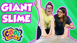 Giant Slime Challenge - Who Can Make the Coolest Slime - with Ms Booksy and Crafty Carol
