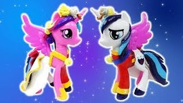 Princess Cadence Shining Armor Wedding Custom Split Pony