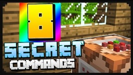 8 SECRET COMMANDS IN MINECRAFT