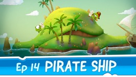 Om Nom Stories- Pirate Ship -Episode 14 Cut the Rope- Time Travel
