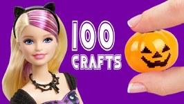 100 DIY Halloween Miniature Doll Accessories