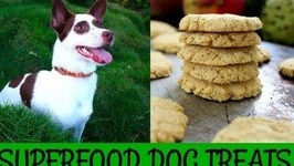 Healthy Homemade Dog Treats - Superfood Cookies