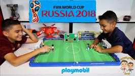 FIFA WORLD CUP RUSSIA 2018 - PLAYMOBIL SOCCER ARENA - SOCCER TARGETS