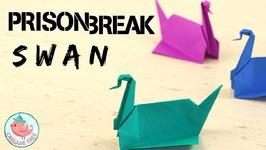 Prison Break Origami Swan Tutorial - How to Make Michael Scofield's Easy Origami Crane or Bird