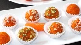 Carrot Truffles / Gajar Laddu