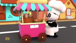 Hot Cross Buns - Baby Bao Panda Cartoons For Kids
