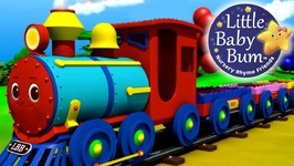 Little Baby Bum - The Color Train Song - Learn Colours - Nursery Rhymes for Babies
