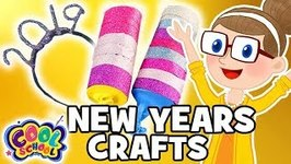 New Year's Crafts - Headband  Party Poppers - Crafts for Kids - Crafty Carol Crafts
