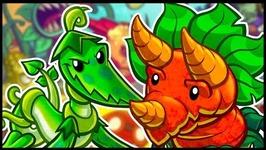 DINO ROAR DECK- Plants vs Zombies Heroes