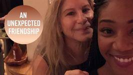 Tiffany Haddish And Barbara Streisand Party Together
