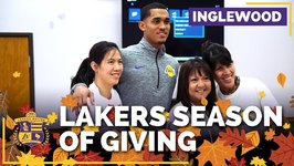 Jordan Clarkson, Lakers Donate Thanksgiving Food For Those In Need