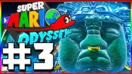 THE UPSIDE DOWN- Super Mario Odyssey - Lets Play Part 3