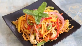 Mango Papaya Noodles Salad