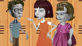 S01 E12 - Bathroom Blues, Garbage Swingers - Angela Anaconda