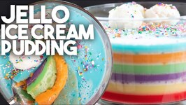 Jello And Ice Cream Pudding