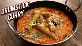 Drumstick Curry / Healthy Drumstick Curry / South Indian Style Mulakkada Curry Recipe / Ruchi