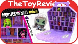 Monster High Minis Collector Case Exclusive Frankie Stein Unboxing
