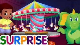 Surprise Eggs Nursery Rhymes Toys - Theme Park Rides Song - Cutians - ChuChu TV Egg Surprise