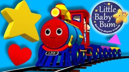 Little Baby Bum - Train Song Shapes - Nursery Rhymes for Babies - Songs for Kids