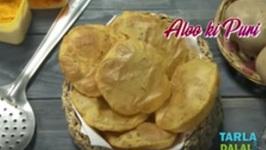 Aloo Ki Puri - Punjabi Aloo Poori