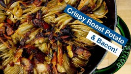 How To Make Crispy Roast Potato And Bacon