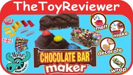 Chocolate Bar Maker by Moose Toys With Sprinkles Gummies M and Ms