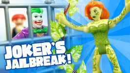 Batman Toys Adventures: Jokers Jailbreak With Imaginext Batman Toys Full Episodes