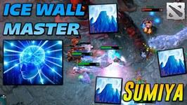 SumiYa Invoker ICE WALL MASTER Dota 2