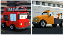 Uses of Fire Truck and Tow Truck - Preschool Learning Videos For Children - Cartoons by Kids Channel