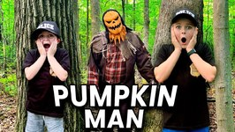 Halloween Cops! Whose That Mystery Pumpkin Man? Halloween Silly Spooky Video