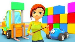Car School: A Forklift for Kids - Cars Cartoons for Babies - Construction Vehicles for Kids