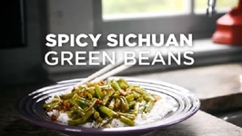 Spicy Sichuan Green Beans